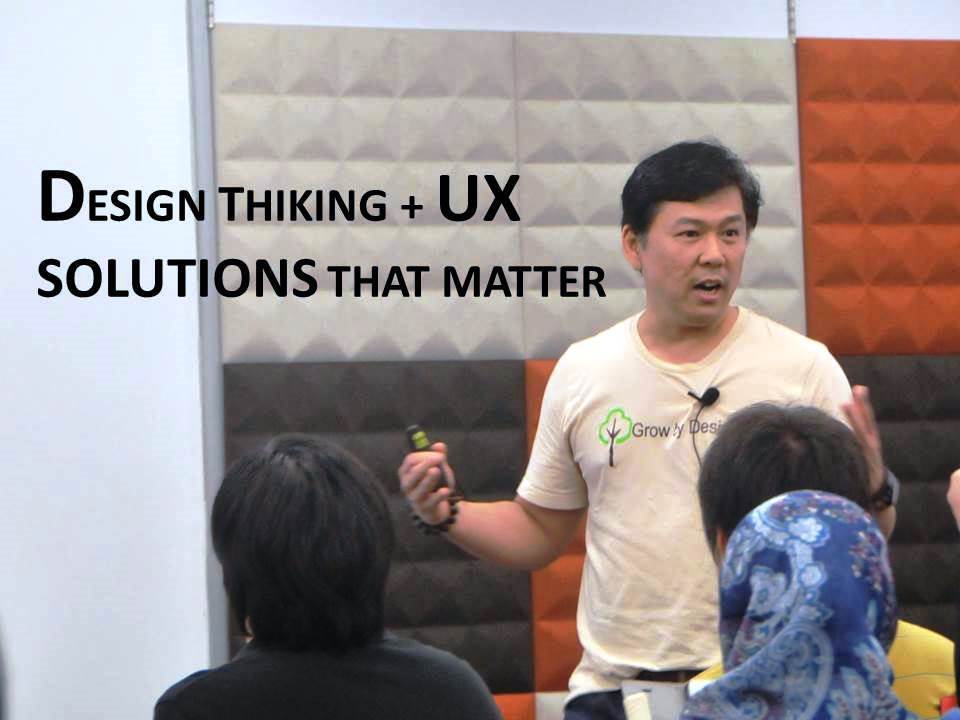 UX Malaysia 2013 - Hao Dinh, Innovation Leader at GE